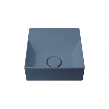HushLab Small 30 umywalka wisząca 30x30 kolor indigo matowy - 782047_O1