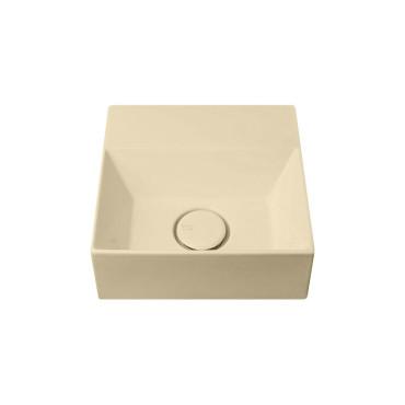 HushLab Small 30 umywalka wisząca 30x30 kolor piaskowy matowy - 781735_O1