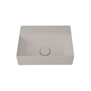 HushLab Small 40 umywalka wisząca 40x30 kolor szary matowy - 773321_O1