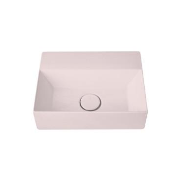 HushLab Small 40 umywalka wisząca 40x30 kolor różowy matowy - 781699_O1