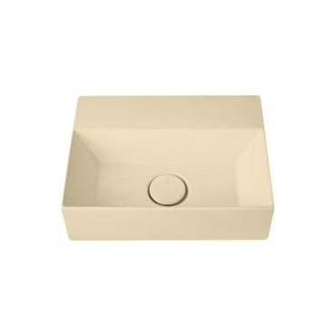 HushLab Small 40 umywalka wisząca 40x30 kolor piaskowy matowy - 781967_O1