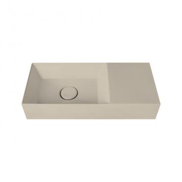 HushLab Small 55 umywalka wisząca 55x25 kolor khaki matowy - 781507_O1