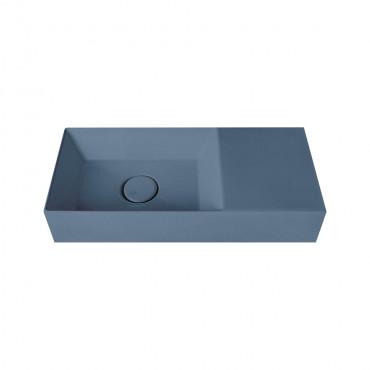 HushLab Small 55 umywalka wisząca 55x25 kolor indigo matowy - 782037_O1