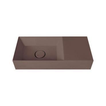HushLab Small 55 umywalka wisząca 55x25 kolor kawowy matowy - 781907_O1