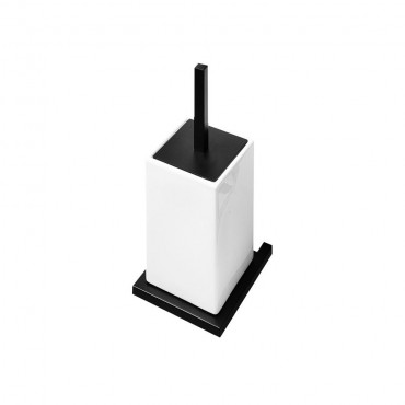 HushLab Bergamo szczotka toaletowa kolor czarny matowy - 771662_O1