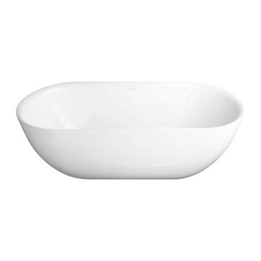 HushLab Bowls Wanna wolnostojąca owalna Pure 170x78 biała - 794943_O1
