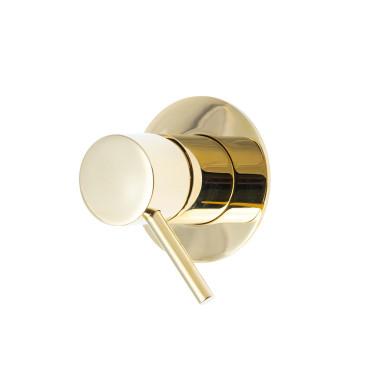 HushLab Lukka Gold Bateria prysznicowa podtynkowa Złoty błyszczący - 820254_O1