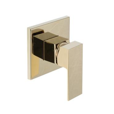 HushLab Piatto Gold Bateria prysznicowa podtynkowa Złoty błyszczący - 820227_O1