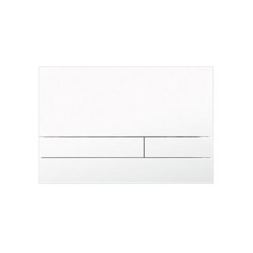 HushLab Stelaże Button Glass Przycisk do stelaża wc szklany Biały mat - 828463_O1