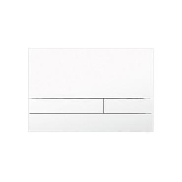 HushLab Stelaże Button Glass Przycisk do stelaża wc szklany Biały połysk - 828464_O1
