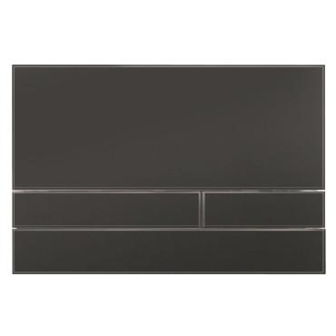 HushLab Stelaże Button Glass Przycisk do stelaża wc szklany Czarny mat - 828466_O1