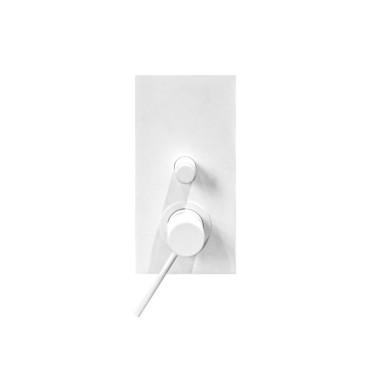 HushLab Siena WHITE bateria wannowo-prysznicowa podtynkowa - 782102_O1