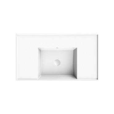 HushLab InLove umywalka wisząca z półkami po bokach 46x81 - 771975_O1