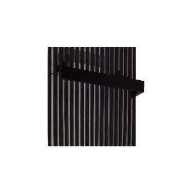 Osprzęt grzejnikowy Wieszak na ręcznik BOLD L-30cm kolor Czarny (do modelu FAT) - 759174_O1